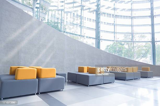 modern office lobby - business community stock pictures, royalty-free photos & images