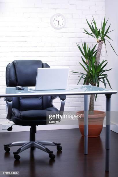 Modern office or business loft setting