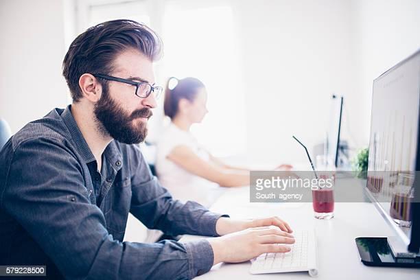 Modern office people