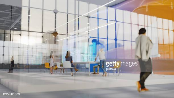modern office - small group of people stock pictures, royalty-free photos & images