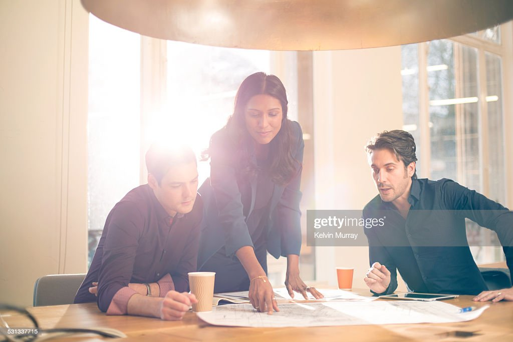 Modern Office Shoot : Stock Photo