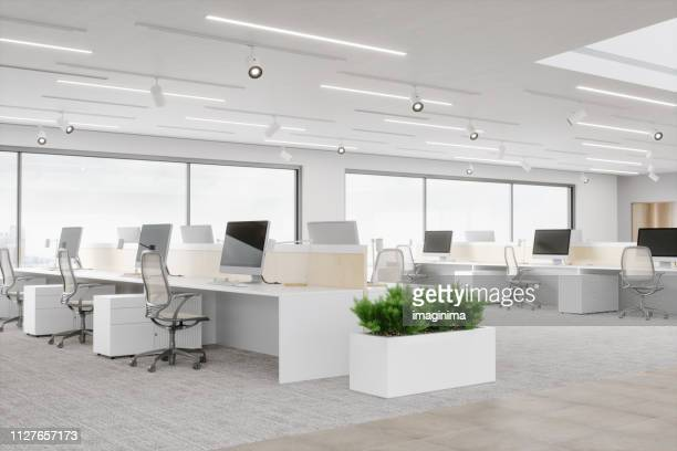 modern office space - office stock pictures, royalty-free photos & images