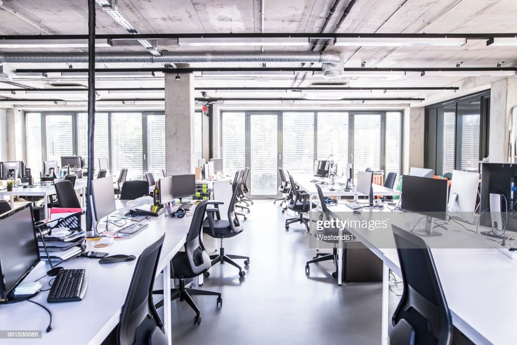 Modern open-plan office : Stock-Foto