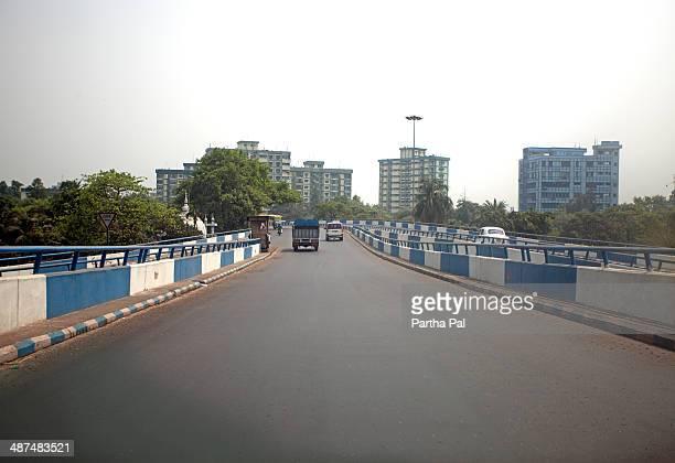Modern Overbridge,Kolkata,metro City