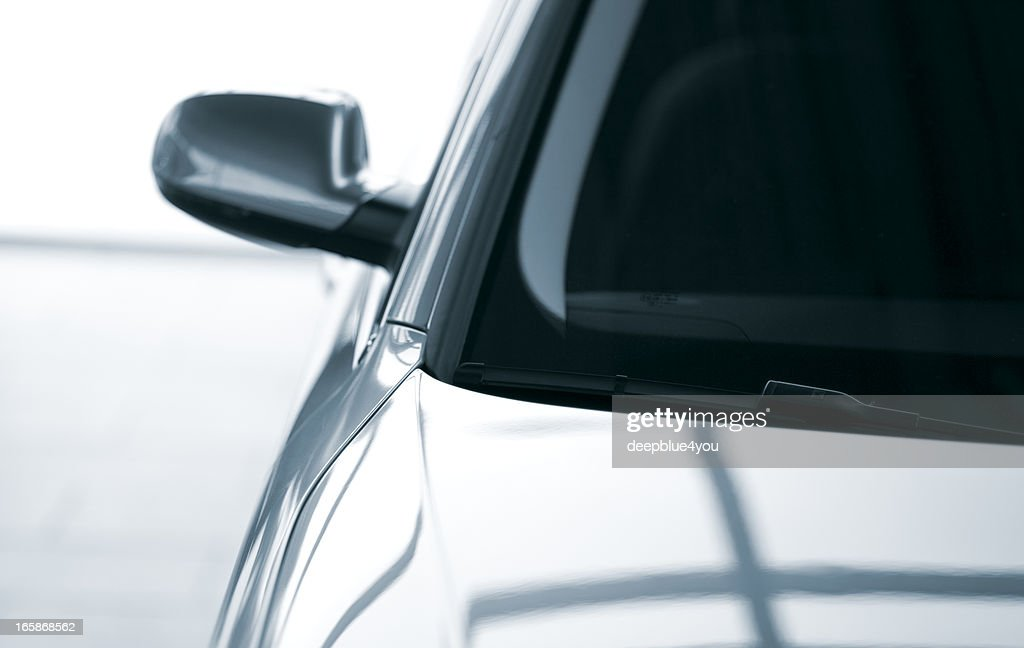Modern parking car : Stock Photo