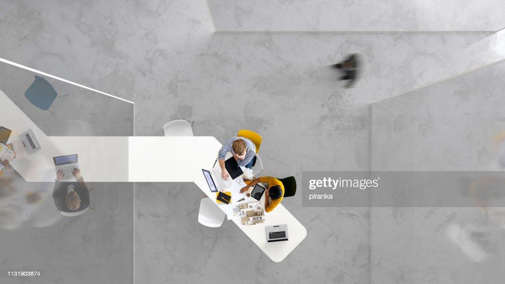 Modern placework : Stock Photo