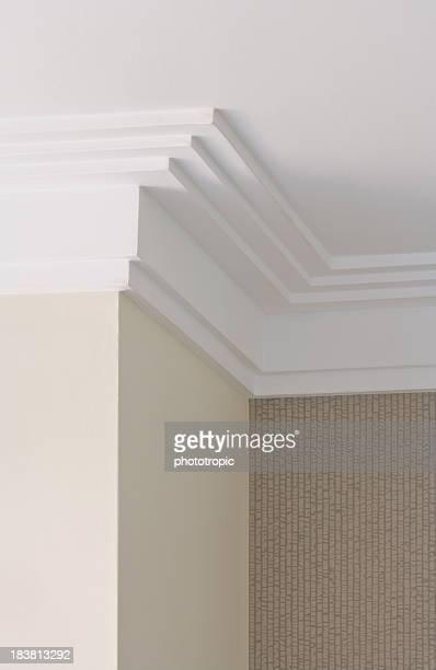 modern plaster cornice