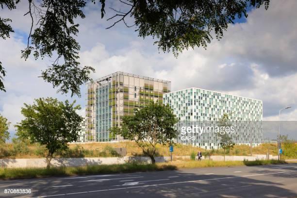 moderne räumlichkeiten der strafgerichtshof den haag - den haag stock-fotos und bilder