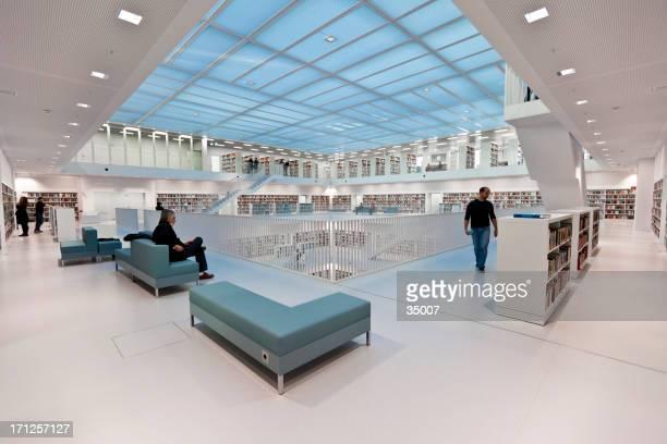 modern public library stuttgart germany