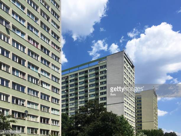 Modern residential buildings in Warsaw (Poland)