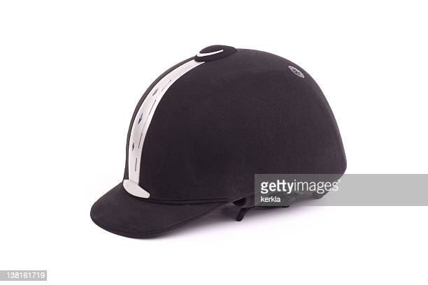 modern riding hat - riding hat stock pictures, royalty-free photos & images