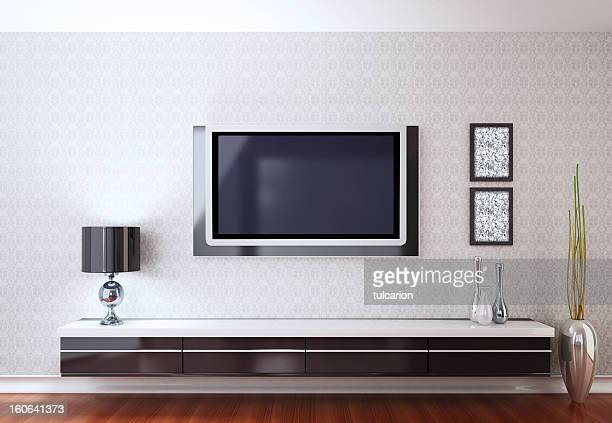 Modern Room with TV