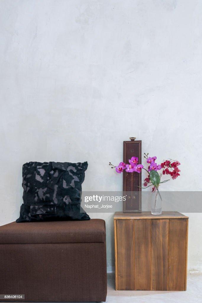 Moderne Rustikale Wohnzimmer Innendekoration Renovierung Konzeptionellen Stock Foto Getty Images