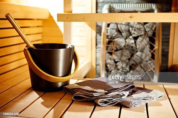 Sauna moderna detalhe