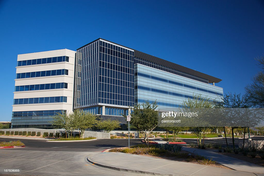 Modern Scottsdale Arizona Building for Medical Business : Stock Photo