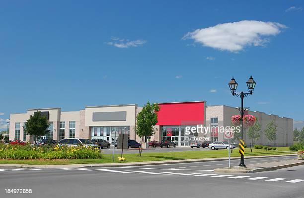 Modern Shopping Area