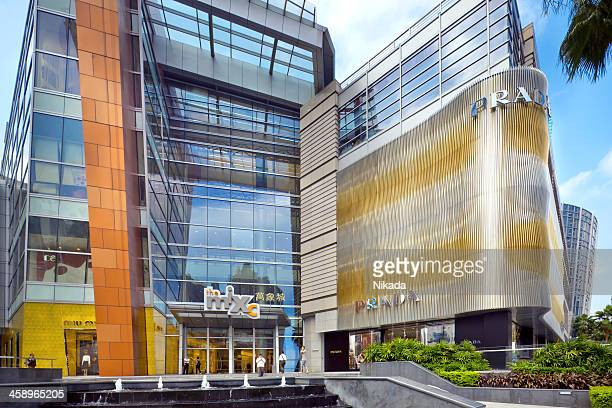 modern shopping mall in china - south china stock pictures, royalty-free photos & images