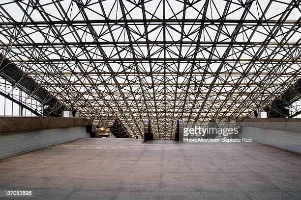 modern skylight - building atrium stock pictures, royalty-free photos & images