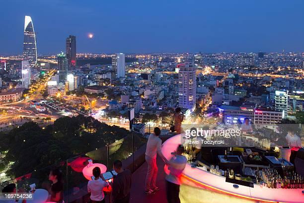 Modern skyline of Ho Chi Minh City, Saigon