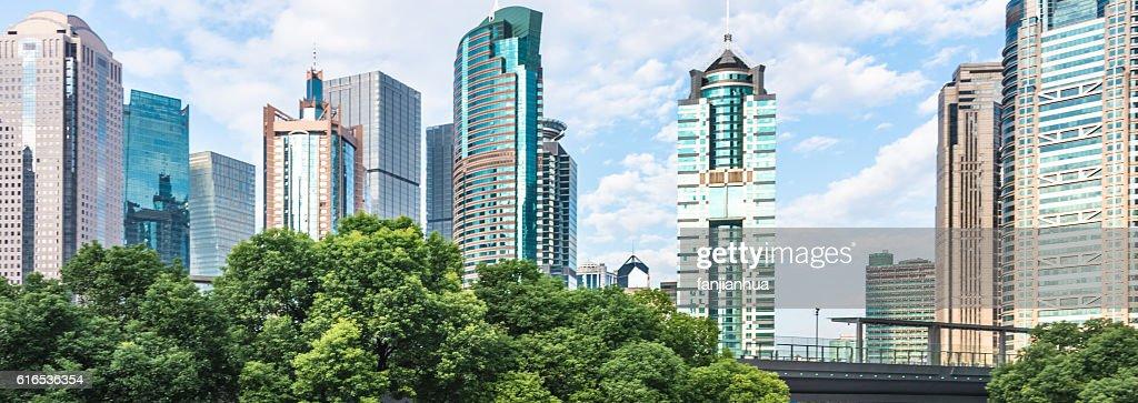 Modern skyscraper building : Stock Photo