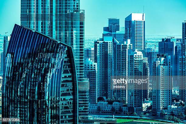 Moderne Wolkenkratzer in der Innenstadt von Dubai, Dubai, Vereinigte Arabische Emirat