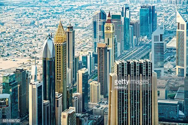 Modern skyscrapers in Downtown Dubai, United Arab Emirates