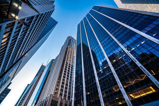 Modern skyscrapers in Midtown Manhattan 1149958175