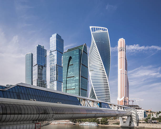 Modern Skyscrapers In Moscow Wall Art