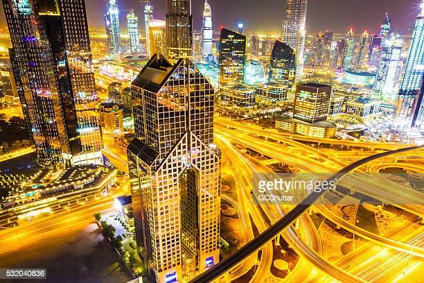 Modern Skyscrapers of Dubai, United Arab Emirates
