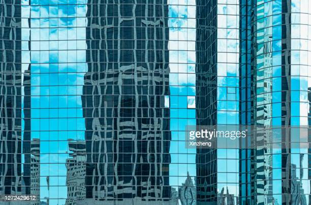 modern skyscrapers - downtown stock pictures, royalty-free photos & images