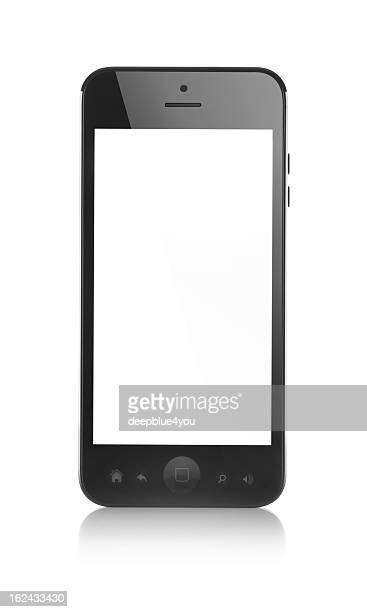 modern smartphone - phone icon stock pictures, royalty-free photos & images