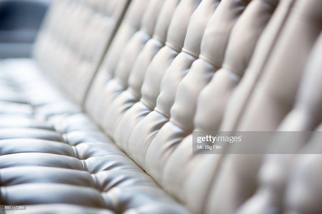Modern Sofa Bench Seat Texture : Stock Photo