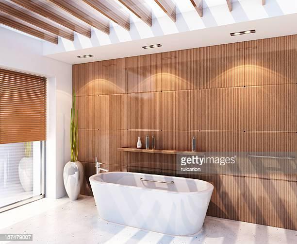 Moderne Spa-Badezimmer