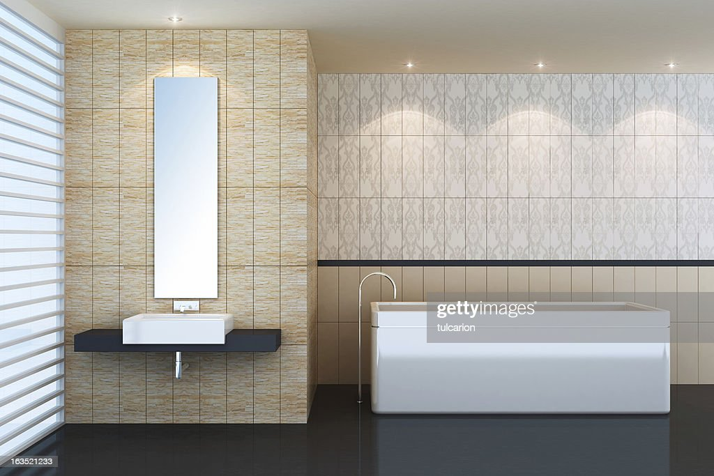 Modern Spa Bathroom : Stock Photo