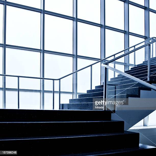 modern stairway - bauhaus art movement stock pictures, royalty-free photos & images