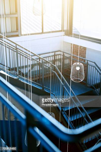 Modern stairway structure