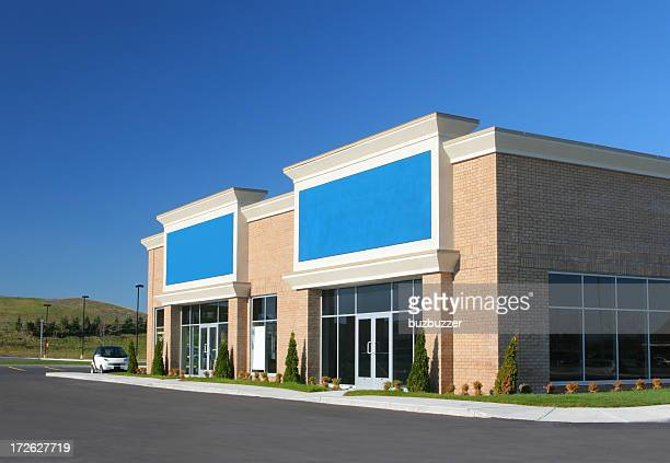 Modern Store Building Exteriors
