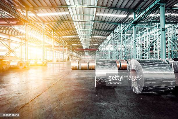 modern storehouse - steel stock pictures, royalty-free photos & images
