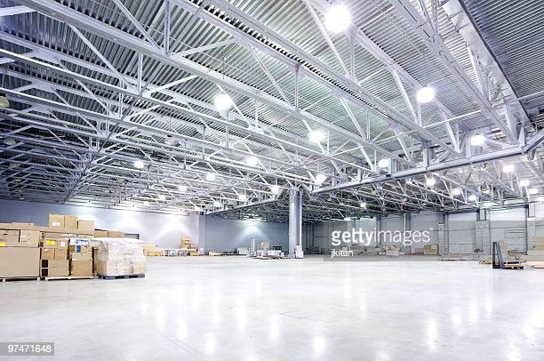 modern storehouse - ceiling stock pictures, royalty-free photos & images