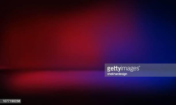 modern studio background - zweifarbig farbe stock-fotos und bilder
