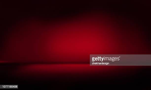 modern studio background - rood stockfoto's en -beelden