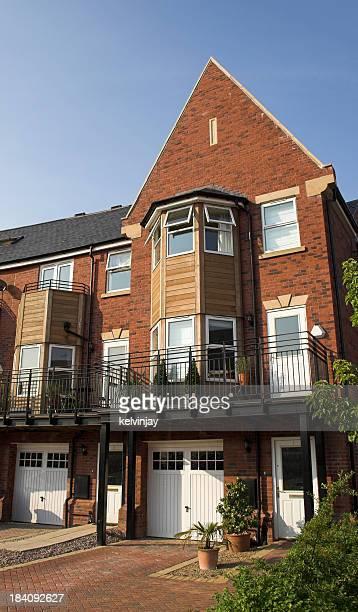 Modern suburban family houses