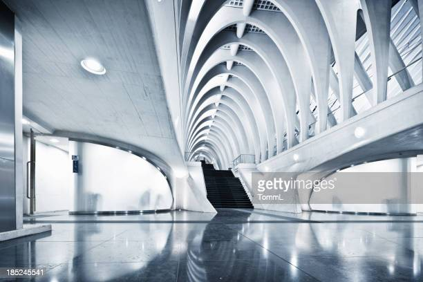 Modern Subway Station