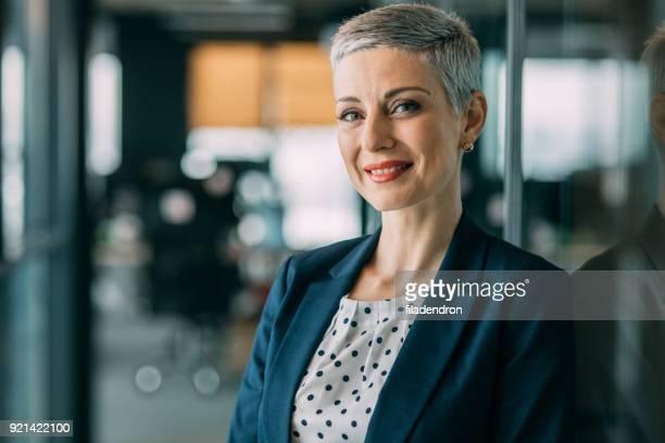 Modern successful businesswoman