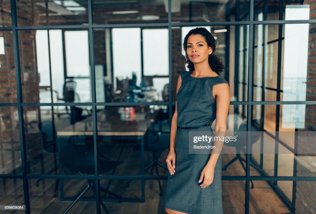Modern successful businesswoman : Stock Photo