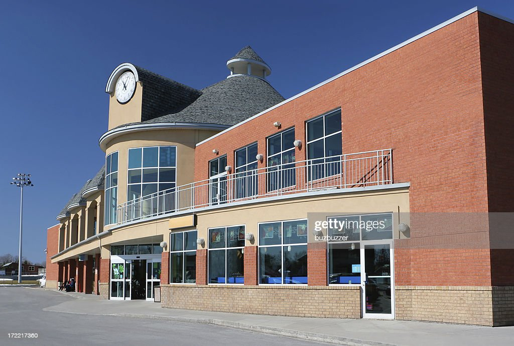 Modern Supermarket Building : Stock Photo