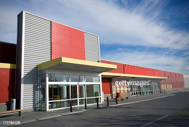 modern supermarket - facade stock pictures, royalty-free photos & images