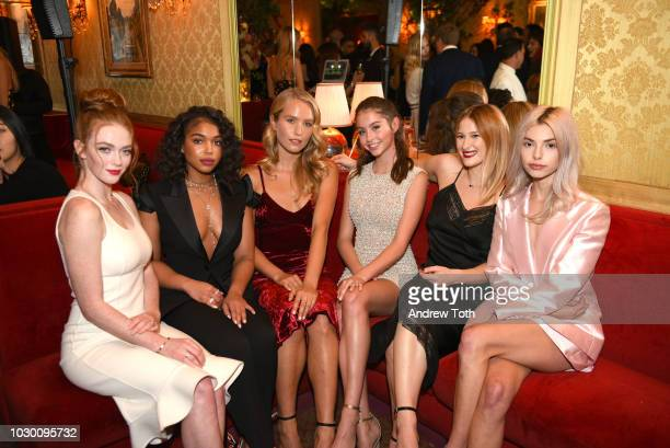 2018 Modern Swans Larsen Thompson Lori Harvey Sailor Brinkley Cook Carys Zeta Douglas Destry Allyn Spielberg and Kit Keenan attend Town Country 2018...