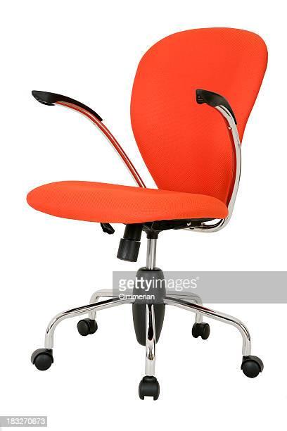 モダンな回転式の椅子