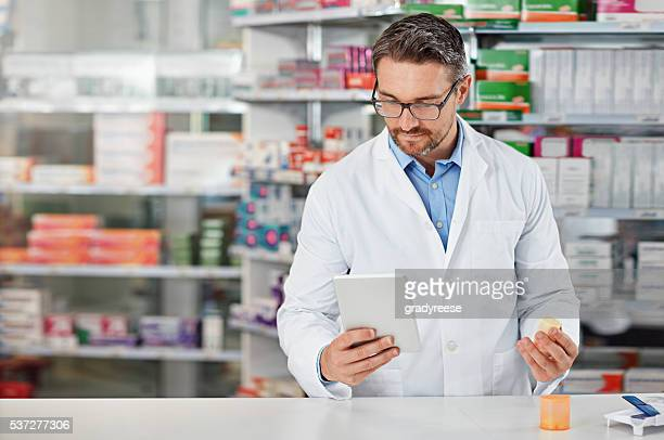 Modern technology helps me to discover new medicines